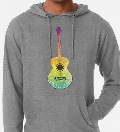 Polygonale Gitarre Leichter Hoodie