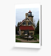 Eagle Bluff Lighthouse - 1868 Greeting Card