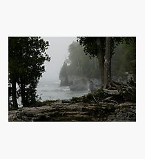 Foggy Morning in Door County Photographic Print