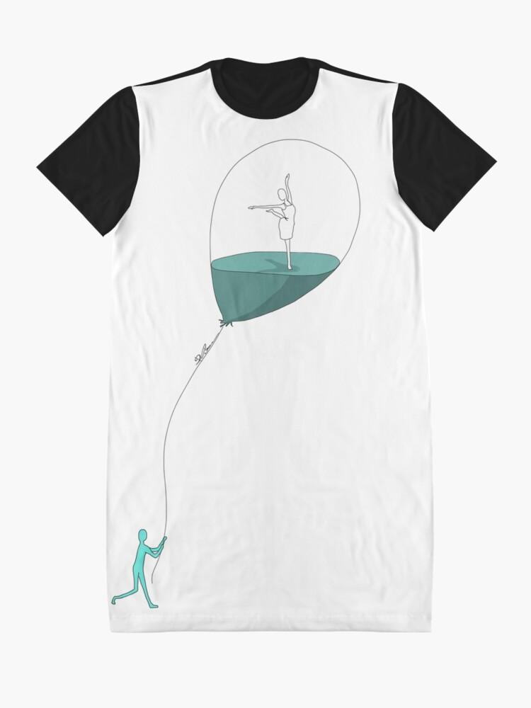 Alternative Ansicht von Dancing memories T-Shirt Kleid