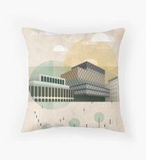 Centenary Square Throw Pillow