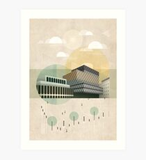 Centenary Square Art Print