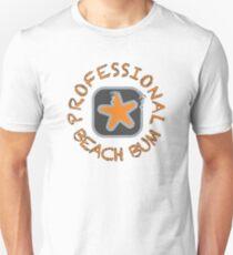 Professional Beach Bum Slim Fit T-Shirt