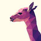 «Alpaca Geometrica Rosa» de purplesparrow