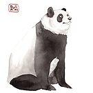 « Sumi-e Panda » par Threeleaves