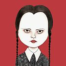 Wednesday Addams by stardixa