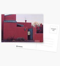 Santa Fe, New Mexico in Winter Postcards