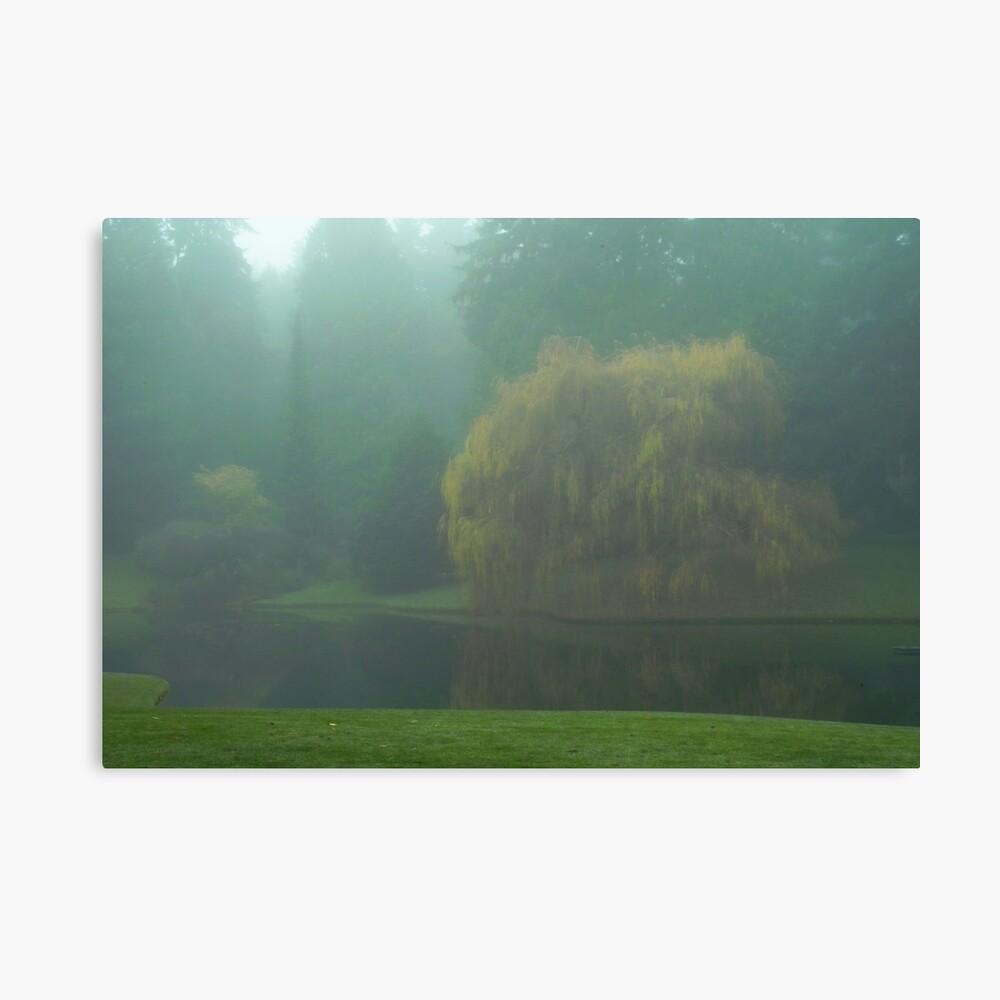 Puget Sound - Mists of Autumn Canvas Print