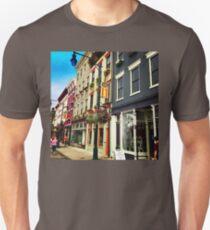 A Sunny Day at Findlay Market Unisex T-Shirt