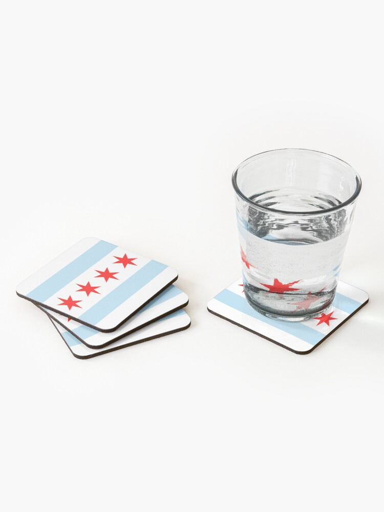Alternate view of Chicago (Illinois) Coasters (Set of 4)