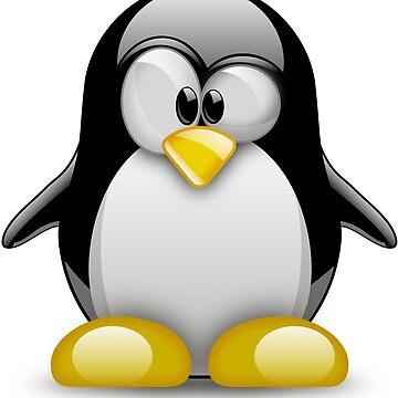 Linux Tux von dynamitfrosch