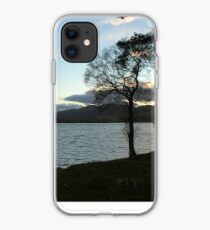 Evening Sky Over Lake of Menteith iPhone Case