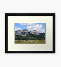 Rockies Ranchland Framed Print