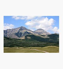 Rockies Ranchland Photographic Print