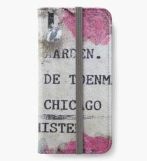 Urban poetry iPhone Wallet/Case/Skin