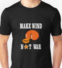 Make Wind Not War Slim Fit T-Shirt