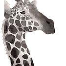 « Sumi-e Giraffe » par Threeleaves