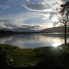 Sunset Over Lake of Menteith by HikerDebs