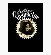 Detective Inspector Photographic Print
