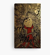 Allo! - Say, come inside, and meet the missus Canvas Print