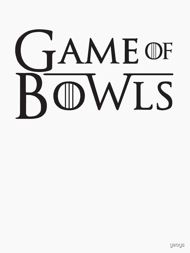 Spiele der Schüsseln - Law Bowling Geschenk von yeoys