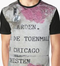 Urban poetry Graphic T-Shirt