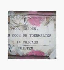 Urban poetry Scarf