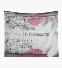Urban poetry Wall Tapestry
