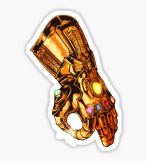 Infinity Gauntlet - Circle Game Sticker