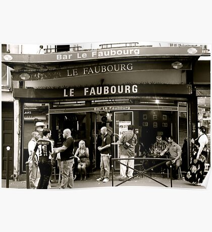 Le Faubourg Poster