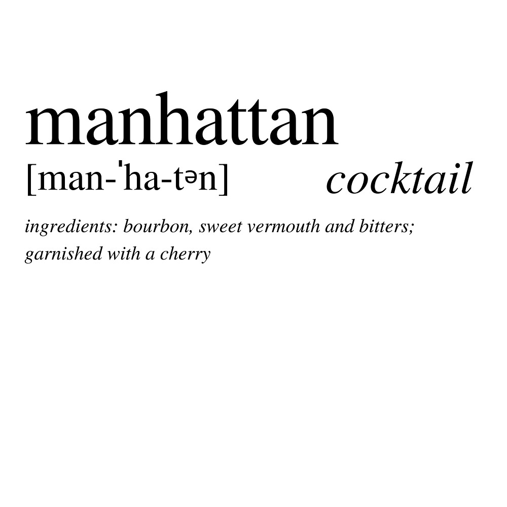 The Manhattan - a cocktail loved by all by ALushLifeManual