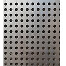 Silver Metallic Steel Pattern von Gino S
