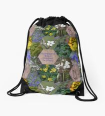 Knockbarron Wood Drawstring Bag
