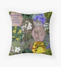 Knockbarron Wood Throw Pillow
