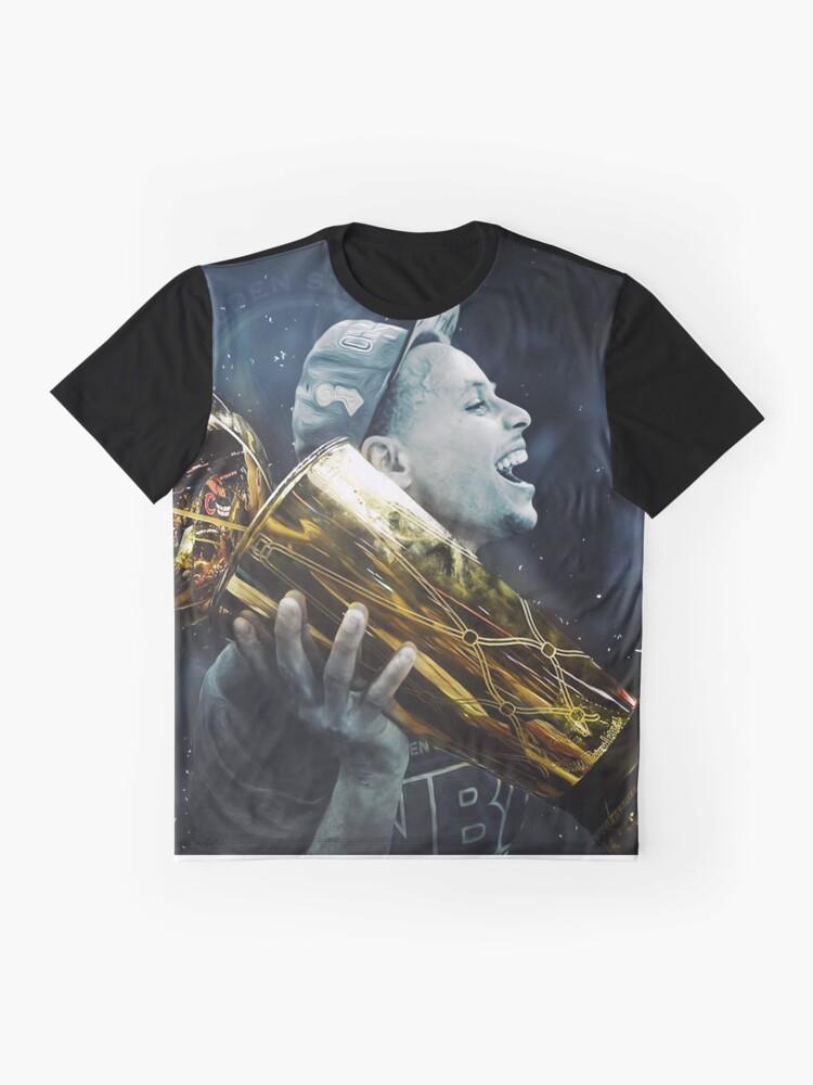 Alternate view of stepen curri basket Graphic T-Shirt