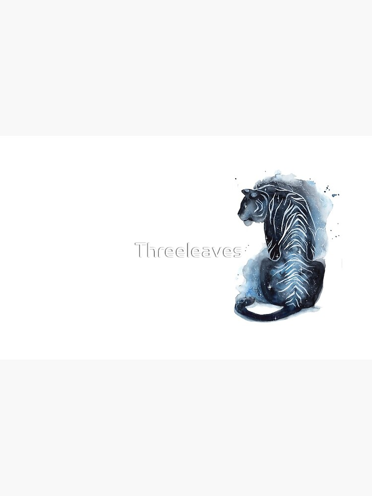 Aquarell Galaxy Tiger von Threeleaves