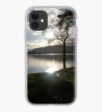 Sunset Over Lake of Menteith iPhone Case