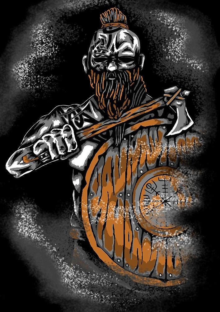 Viking Warrior by mattpetrey