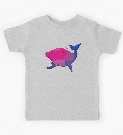 Bisexuwhale - no text Kids Clothes