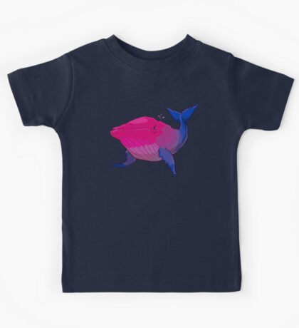 Bisexuwhale - no text Kids Clothes