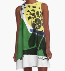 Träumen in Rio A-Linien Kleid