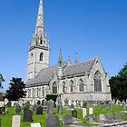 The Marble Church, Bodelwyddan, North Wales by John Morris