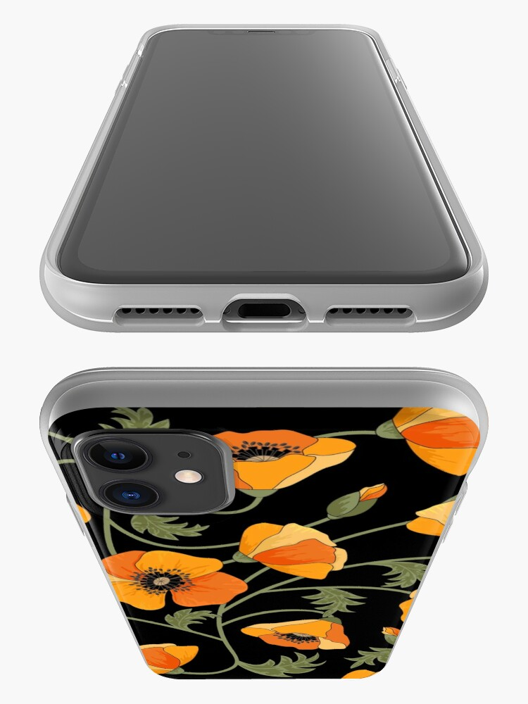 Alternate view of California Poppies iPhone Case & Cover