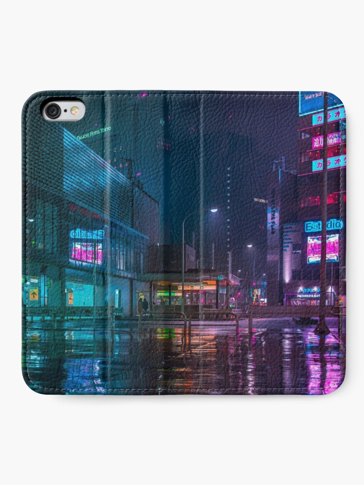 Alternate view of Only the rain iPhone Wallet