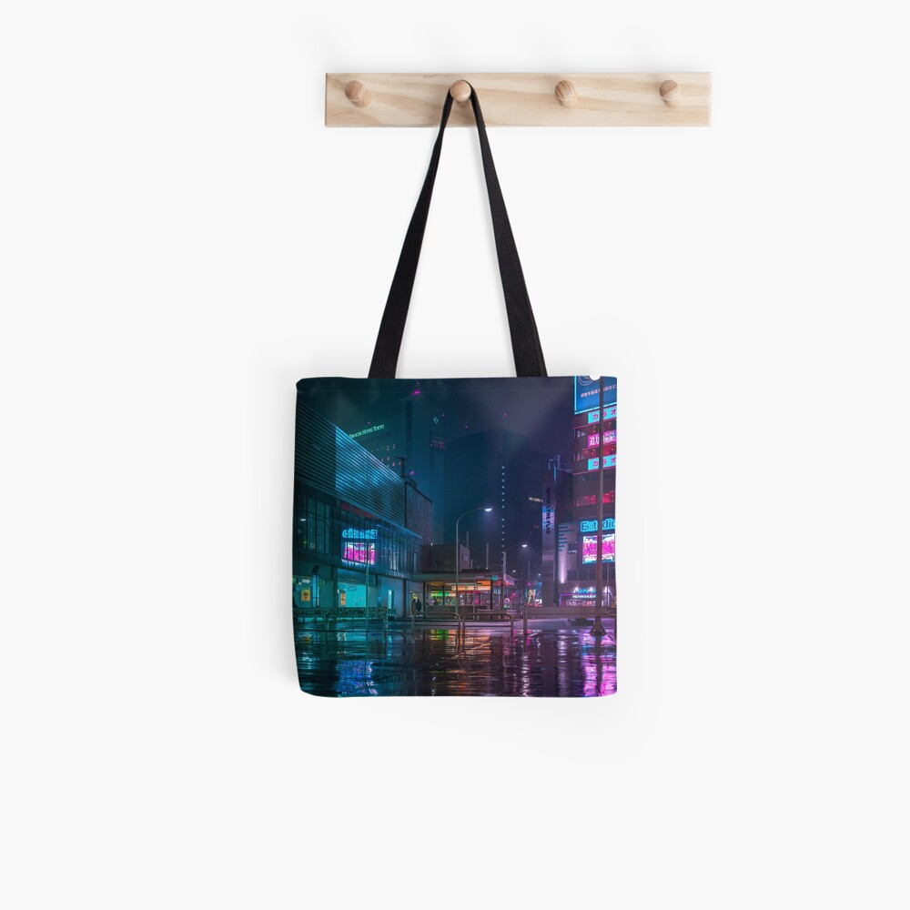 Only the rain Tote Bag