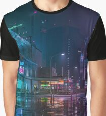 Only the rain Graphic T-Shirt