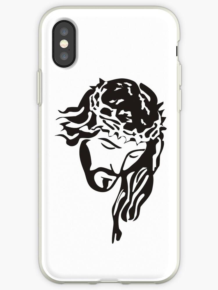 coque iphone xs jesus