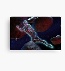 Catch an Unreal Asteroid Canvas Print