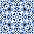 Cool Breeze Mandala by Kelly Dietrich