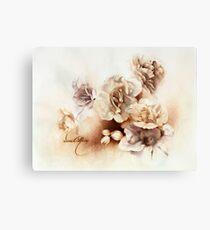 """Bouquet ll"" Oil on Canvas Canvas Print"